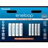 Panasonic Eneloop BK-KJMCCE44E 4 db 1900 mAh AA + 4 db 750 mAh AAA akkumulátor