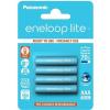 Panasonic eneloop lite AAA 550mAh 4 db