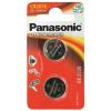 Panasonic Gombelem, CR2016, 2 db, PANASONIC (PECR2016)