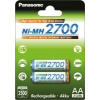 Panasonic High Capacity 2700 (BK-3HGAE/2BE) AA Elem, 2db