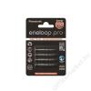 "Panasonic Tölthető elem, AAA mikro, 4x930 mAh, PANASONIC ""Eneloop PRO"" (ELAKU03)"