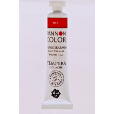 Pannoncolor Kft. Pannoncolor tempera 18ml/tub új világoskármin tempera