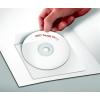 PANTA PLAST CD tartó zseb, öntapadó, 129x129 mm, PANTA PLAST