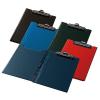 PANTA PLAST Felírótábla, fedeles, A4, sarokzsebbel, PANTAPLAST, fekete