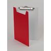 PANTA PLAST Felírótábla, fedeles, A5, piros-fehér