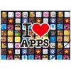 "PANTA PLAST Gumis mappa, 15 mm, PP, A4,  ""Apps"""