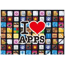 "PANTA PLAST Gumis mappa, 15 mm, PP, A4,  ""Apps"" mappa"