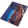 "PANTA PLAST Gumis mappa, 15 mm, PP, A4, PANTA PLAST, ""New York"""