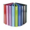 PANTA PLAST Gyűrűs könyv, panorámás, 4 gyűrű, 40 mm, A4, PP/karton, PANTA PLAST, rózsaszín
