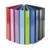 PANTA PLAST Gyűrűs könyv, panorámás, 4 gyűrű, 40 mm, A4, PP/karton, PANTA PLAST, rózsaszín (INP316002429)