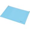 PANTA PLAST Irattartó tasak, A4, PP, cipzáras, talpas, PANTA PLAST, pasztell kék