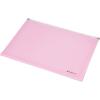PANTA PLAST Irattartó tasak, A4, PP, cipzáras, talpas, PANTA PLAST, pasztell rózsaszín