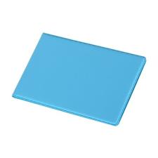 PANTA PLAST Névjegytartó, 24 db-os, PANTAPLAST, pasztellkék hegesztés