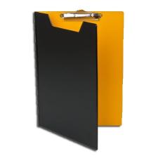 Pantaplast Felírótábla, fedeles, A5, PANTAPLAST, fekete-sárga felírótábla