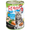 Panzi FitActive Cat Adult Meat-Mix konzerv (24 x 415 g) 9.96kg