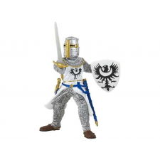 Papo fehér lovag karddal 39946 játékfigura
