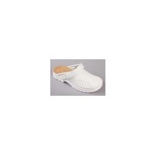 Papucs, 38-es méret, fehér munkavédelmi cipő