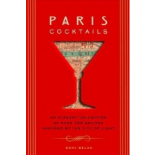Paris Cocktails – Doni Belau idegen nyelvű könyv