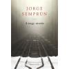 Park Könyvkiadó Jorge Semprún: A nagy utazás