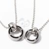 Páros nyaklánc - gyűrű medál kövekkel jwr-1008