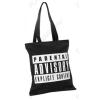 PASO válltáska, bevásárló táska, 39x35cm, fekete