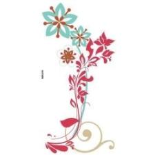 Pasztel virágok matrica