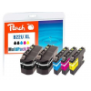 Peach Ink PEACH Brother LC-22UXL; REM; Multi-Pack-Plus; PI500-211 2x bk; 1x c;m;y each