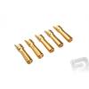 PELIKAN 7947/5 G4.0mm rugós csatlakozó arany 5 db (apa)