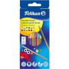 PELIKAN : Bicolor színes ceruza 12 darabos