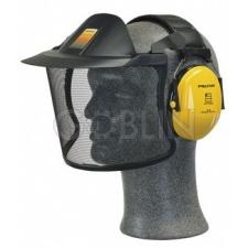 Peltor V40A acélhálós arcvédõ silddel, fejkengyeles Peltor fültokkal kombinálható