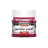 Pentacolor Kft. Pentart Matt vörösbor színű akril bázisú hobbi festék 50 ml