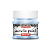 Pentacolor Kft. Pentart Metál világoskék színű akril bázisú hobbi festék 50 ml