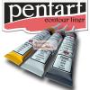 Pentart Kontúrozó festékek készletben: arany, ezüst, fekete