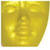 Pentart Metál akrilfesték 20 ml sárga