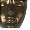 Pentart Metál akrilfesték 50 ml csillogó bronz