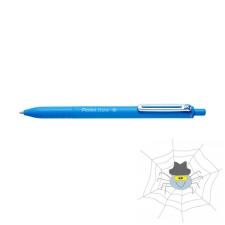 Pentel Golyóstoll PENTEL iZee nyomógombos 0,35 mm világoskék toll