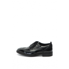 Pepe Jeans London , Hackney brogue bőrcipő, Fekete, 43 (PMS10244-999-43)