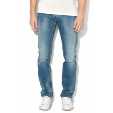 Pepe Jeans London , Spike középmagas derekú regular fit farmernadrág, Kék, W36-L32 (PM200029GD4-000-W36-L32)