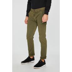 Pepe Jeans - Nadrág Sloane - zöldeskék - 1499710-zöldeskék