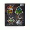 Perfect home 13037 Sütikiszúró készlet Karácsony