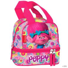 PERONA táska táska Trolls Poppy virágos dupla zseb gyerek
