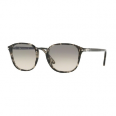 Persol PO3186S 106332 SPOTTED GREY BLACK CLEAR GRADIENT GREY napszemüveg