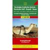 Perzsa öböl 2: Kuvait - Oman - EAE autótérkép - f&b AK 128