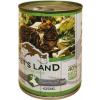 PET'S LAND Cat konzerv vadhússal és répával (48 x 415 g) 19.92kg