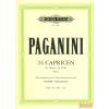 Peters 24 Capricen für Violine Opus 1