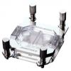 Phanteks C350a CPU vízhűtő, RGB, akril - króm /PH-C350A_CR01/