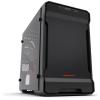 PHANTEKS Enthoo Evolv ITX edzett üveg RGB fekete-piros