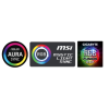 PHANTEKS Halos Lux 140mm ventilátorkeret, RGB LED - Alu, szürke (PH-FF140RGBA_AG01) (PH-FF140RGBA_AG01)