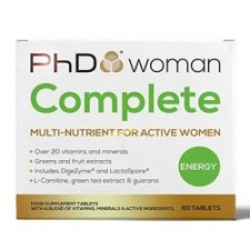PhD woman Complete vitamin