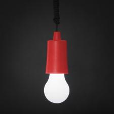 Phenom Húzókapcsolós függesztett LED lámpa piros (Lámpa) izzó